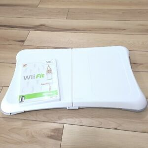 Wii Fit Balance Board And Wii Fit 2008 Game Bundle RVL-021 Nintendo Tested