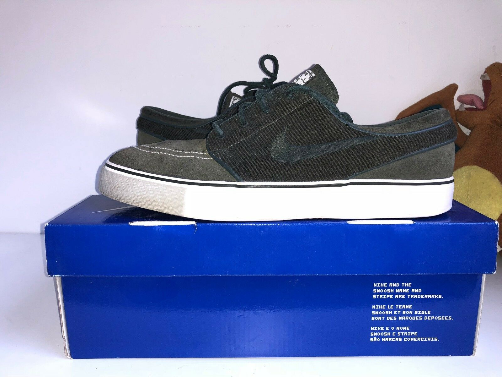 Scarpe da ginnastica Nike Stefan 10-] Janoski-militare scuro/militare scuro [Us 10-] Stefan 124903