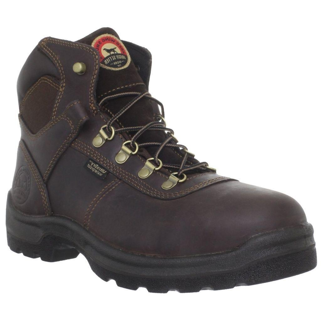 Red Wing Irish Setter Mens 6 Inch Brown Work Boot 83617 NIB