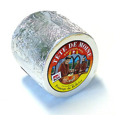 Tete de Moine Cheese ca 850g whole Loaf for Girolle Cheese slicer