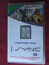 B6 vs A6 US-MEXICO 12 13 14 15 16 LINCOLN MKS MKT MKX KZ Navigation SD CARD MAP