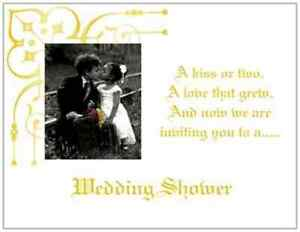 Image Is Loading 20 African Amer Wedding Bridal Shower Invitations Kids