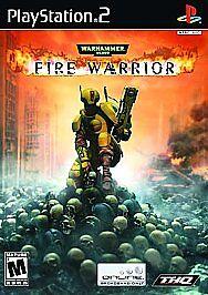 Warhammer 40,000: Fire Warrior (Sony PlayStation 2, 2003) for sale online |  eBay