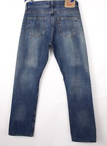 Levi's Strauss & Co Hommes 506 Standart Jeans Jambe Droite Taille W34 L36 BBZ366
