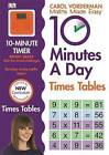 10 Minutes a Day Times Table by Carol Vorderman (Paperback, 2014)