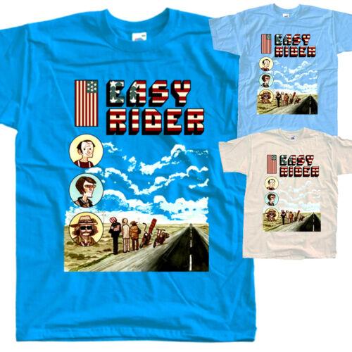 Easy Rider V12,movie poster,T SHIRT all sizes S to 5XL Peter Fonda Dennis Hopper
