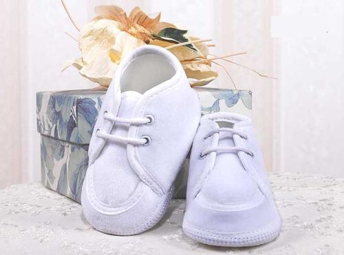 Taufschuhe Babyschuhe Nicki weiss Junge Taufe Hochzeit 17 18 19 20 NEU **