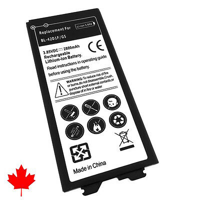 NEW LG G5 H850 Replacement Battery BL-42D1F 2800mAh