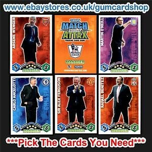 *Select the Cards You Need* TEAMS T to W MATCH ATTAX 2009-2010