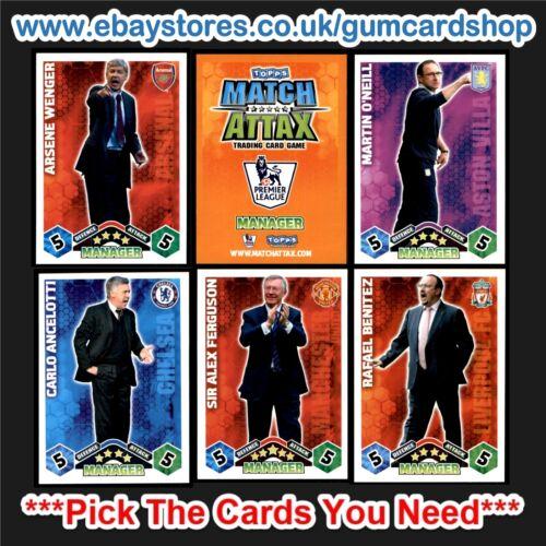 Match Attax 2009-2010 * sélectionner les cartes vous avez besoin * gestionnaires