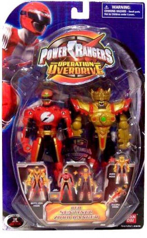 Power Rangers Operation Overdrive ROT Sentinel Zord Ranger Action Figure
