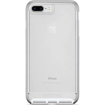 new style 072ec f4fa6 NEW Tech21 Evo Elite Drop Protection Case for Apple iPhone 7/8 PLUS -  Silver | eBay