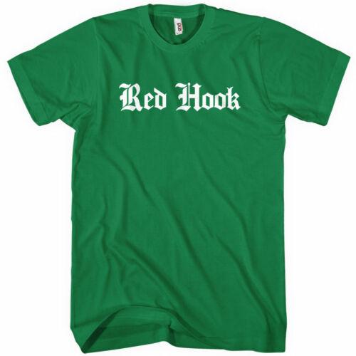 Carroll Gardens BKNY USA Kids XS-4XL Men Red Hook Gothic Brooklyn T-shirt