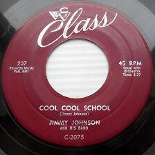 JIMMY JOHNSON R&B Bopper 45 Cool Cool School Lone Ranger Gonna Git Married F1912
