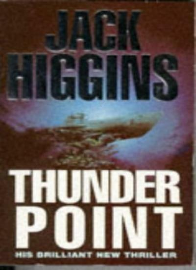 Thunder Point,Jack Higgins- 9780451178329