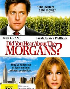 DID-YOU-HEAR-ABOUT-THE-MORGANS-Comedy-Region-4-Rare-Aussie-Stock-DVD