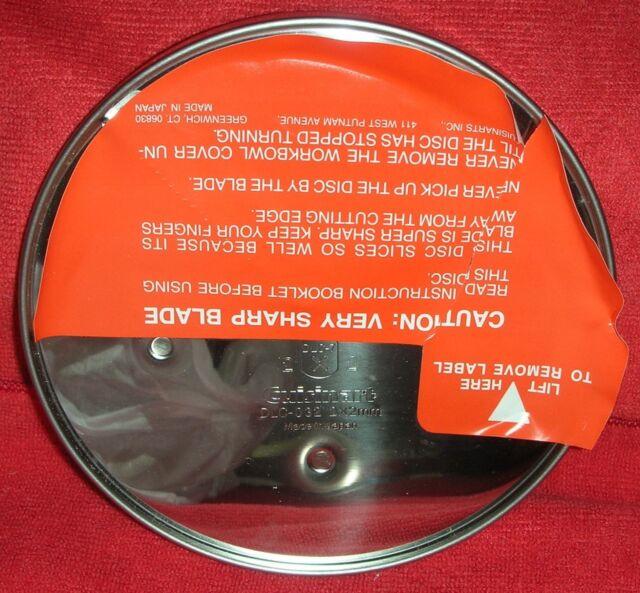 Cuisinart DLC-032 for DLC-7 Food Processor Slicing Disc Blade Julienne 2 x 2 mm