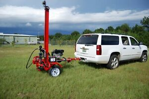 Details About Water Well Drilling Rig Drill Equipment Driller Tool New Portable Hydraulic