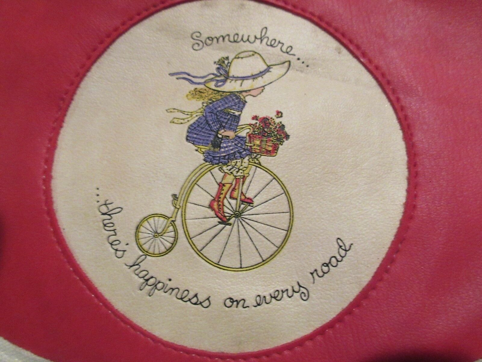 """Purses, Little Girls Style """"Somewhere.There's Happiness"""