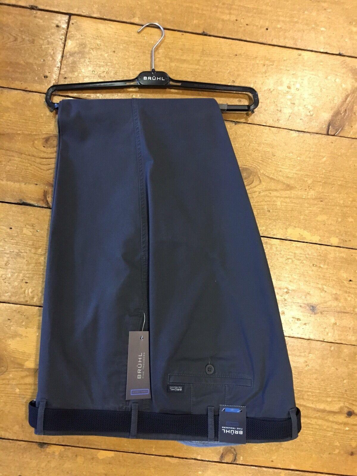 BRUHL® Montana Cotton Montana Trousers Carbon - 52 32 SRP  SALE