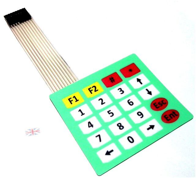 4x5 Matrix Array Membrane Switch Keypad Keyboard 4*5 Keys for Arduino new - UK