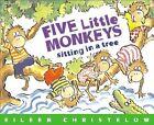 Five Little Monkeys Sitting in a Tree by Eileen Christelow (Hardback, 1991)