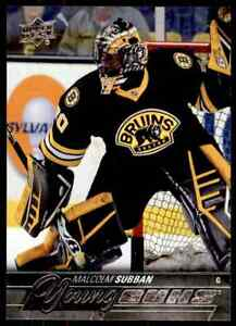 2015-16-Upper-Deck-Series-One-Young-Guns-Malcolm-Subban-Rookie-211