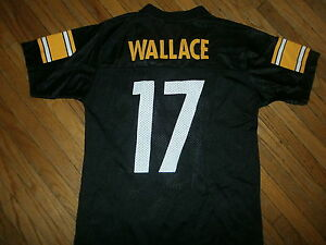 Image is loading PITTSBURGH-STEELERS-MIKE-WALLACE-17-JERSEY-Football-NFL- 83e738ece
