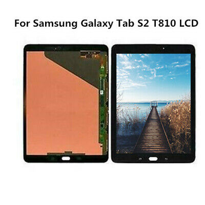 For Samsung Galaxy Tab S2 9.7 WiFi SM-T810 T815 Touch Screen  Only Glass Panel