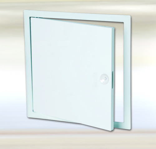 Tin Revision Flap 100 x 75 cm for Wall with Square Clasp Long Side