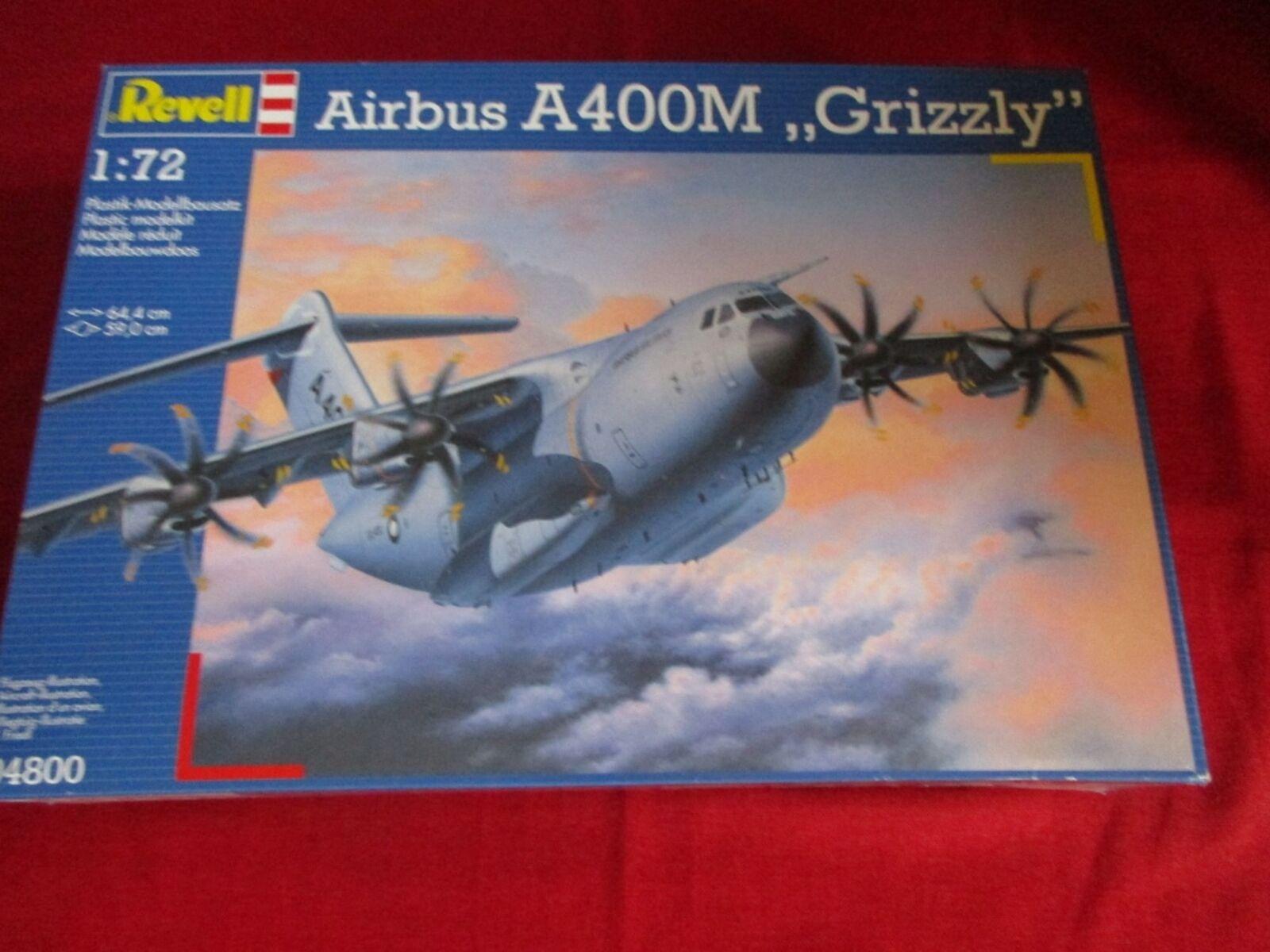 REVELL® 04800 1 72 72 72 Airbus A400M 'Grizzly' NEU OVP  | Der neueste Stil  b8be5e