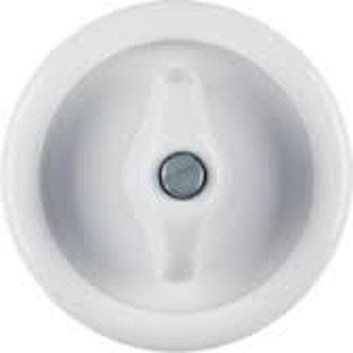 Serrage BERKER 16476900 Série 1930 porcelaine Polarweiß Brillant Pièce centrale M