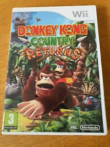 Donkey-Kong-Country-Returns-Nintendo-Wii-PAL-Complete