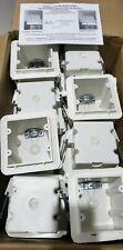 24 Allied Moulded Vapor Seal Outlet Boxes Rd 42v Rangedryer 2 Gang 3 34 Depth