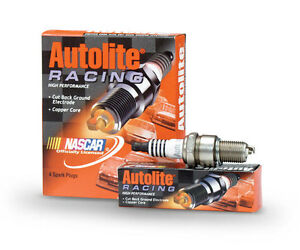 AR93-Autolite-High-Performance-Racing-Non-Resistor-Spark-Plugs-Pack-of-4-NEW