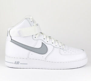 Details about Nike Air Force 1 High 07 3 Men Lifestyle Fashion Shoes New White Grey AT4141 100