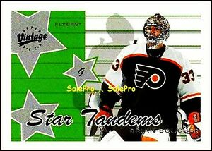 UD-VINTAGE-2000-BRIAN-BOUCHER-NHL-PHILADELPHIA-FLYERS-STAR-TANDEMS-INSERT-S5B