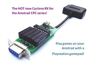NEW-Cyclone-RX-Playstation-Joystick-Gamepad-Adapter-for-Amstrad-CPC464-6128