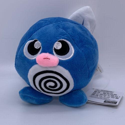 """Poliwag Plush Blue Tadpole Soft Toy Doll Stuffed Animal Teddy 5/"""""""