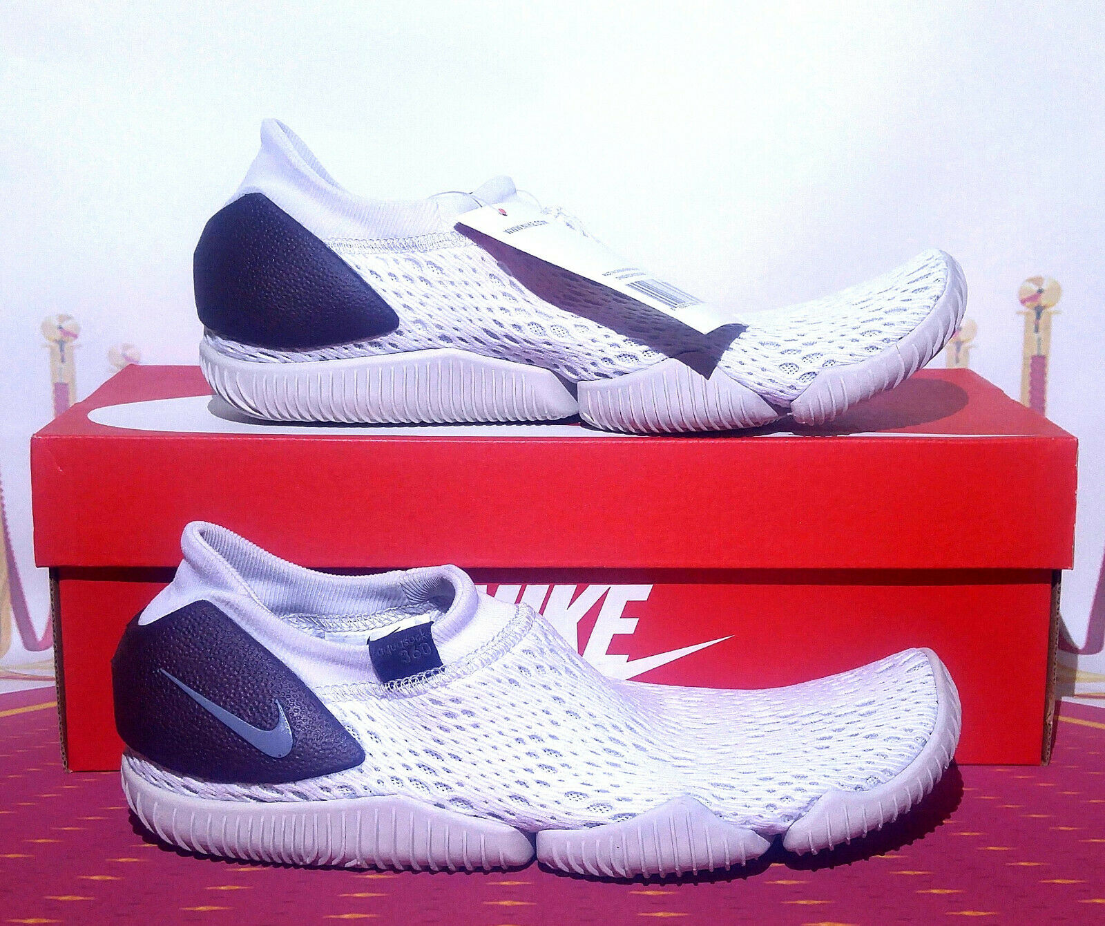 d4492883ca1 AQUA SOCK 360 885105 004 Men's Women's Size vast grey NEW 7-8-9-10-11-12  NIKE nczajt2110-Athletic Shoes