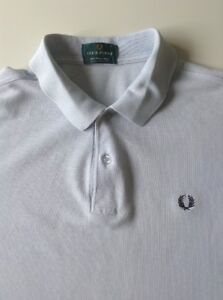 7fb0c6fb5 VINTAGE FRED PERRY POLO T SHIRT SIZE S MOD MADE IN ENGLAND 3 SMALL ...