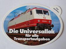 Aufkleber Die UNIVERSALLOK Deutsche Bundesbahn Bahn DB 80er Sticker Autocollant