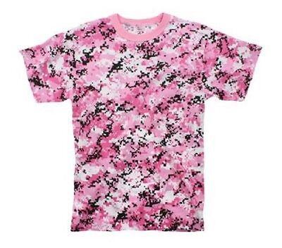 Dynamisch Us Pink Camouflage Shirt Army Tshirt Digi Rosa Camo Xl / Xlarge Exquisite Traditionelle Stickkunst