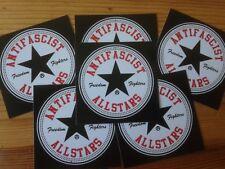 50 Antifascist Allstars Aufkleber stickers Punk Antinazi Gegen Nazis Antifa
