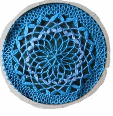 021 Klöppeln Klöppelbrief Decke Gardine Scheibengardine  Brief ohne Rahmen