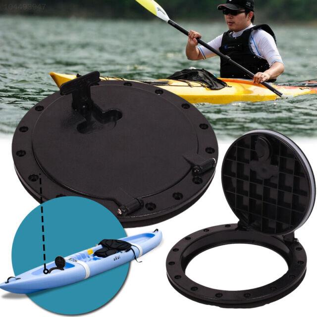 "3335 10/"" ABS Hatch Cover Deck Plate Kit Waterproof With Storage Bag Marine Kayak"
