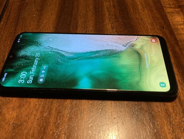 Samsung Galaxy A20 SM-A205U - 32GB - Black-Boost Mobile