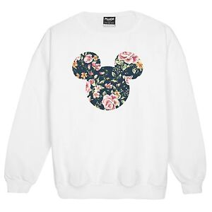 FLORAL-MICKEY-SWEATER-HEAD-MOUSE-RETRO-VTG-JUMPER-WOMENS-STYLE-FASHION-FUN-INDIE