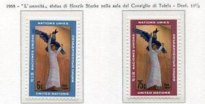 19081) UNITED NATIONS (New York) 1968 MNH** H. Starke Art
