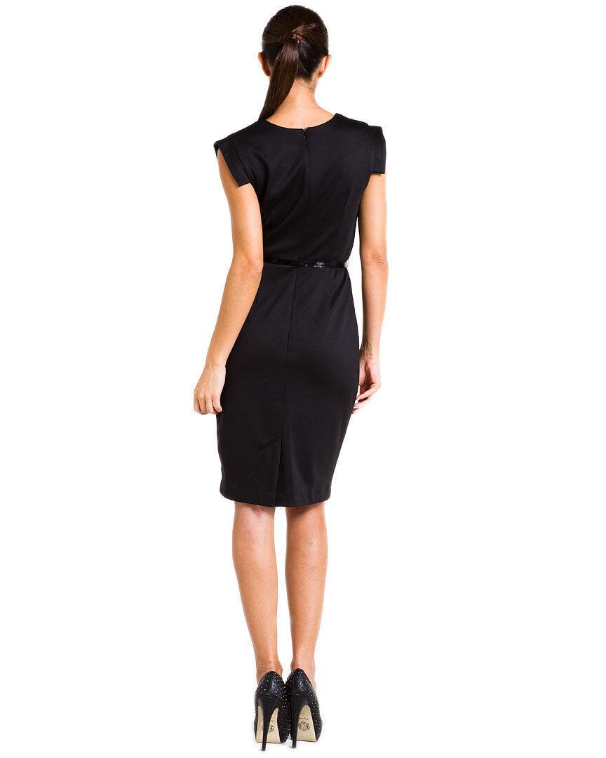 NWT NWT NWT Single LA by Galina Sobolev Designer Collection Veronika Sheath Dress 6  202 e3f655